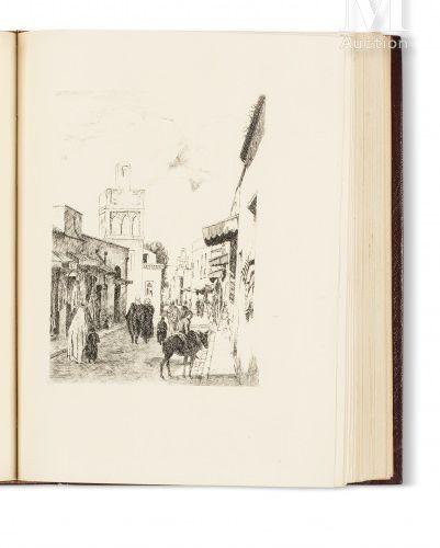 MARCAIS Georges Villes et campagnes d'Algérie, eaux fortes de J. Bersier, E. Bou…