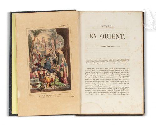 GOUPIL FESQUET (Frédéric) & VERNET (Horace) Voyage en Orient fait avec Horace Ve…