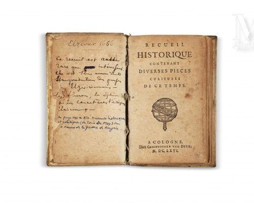 EMPIRE OTTOMAN Recueil historique contenant diverses pièces curieuses de ce temp…