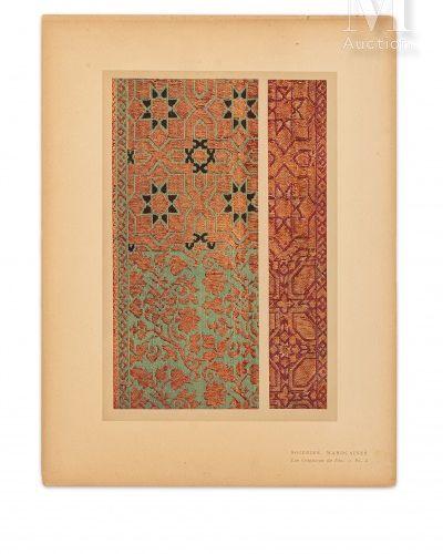 VOGEL (Lucien) Soieries marocaines : les Ceintures de Fès. Paris, Albert Lévy, s…