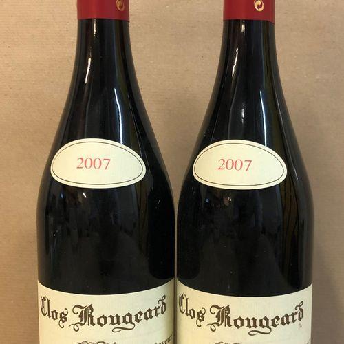 """2 bouteilles SAUMUR CHAMPIGNY """"Les Poyeux"""", Clos Rougeard 2007"""