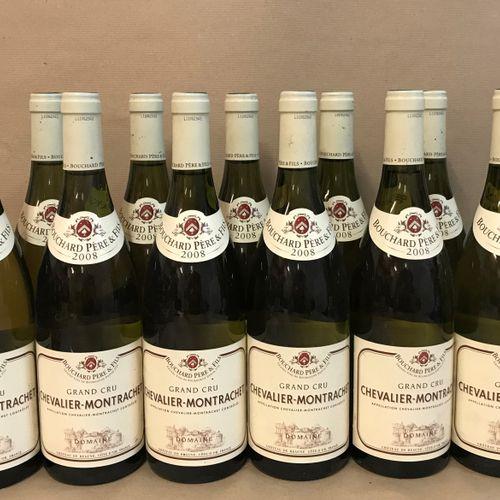 12 bouteilles CHEVALIER MONTRACHET, Bouchard P&F 2008