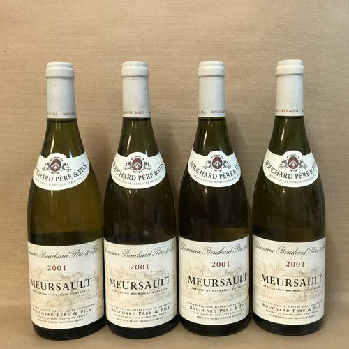 4 bouteilles MEURSAULT Bouchard P&F 2001