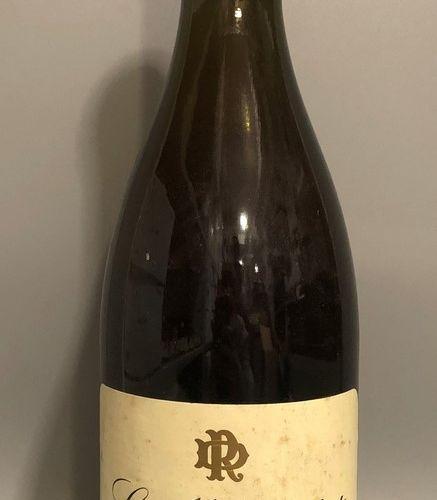 1 bouteille LE MONTRACHET, Rougeot Dupin 1994 (étiquette légèrement tachée, étiq…