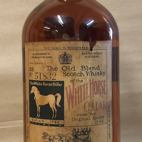 "1 Jéroboam WHISKY ""The Old Blend Scotch Whisky"", White Horse"