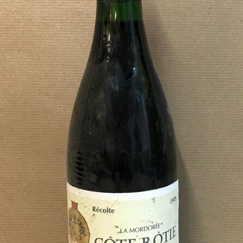 """1 bouteille CÔTE RÔTIE """"La Mordorée"""", M. Chapoutier 1989"""