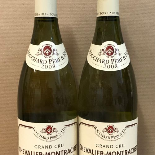 2 bouteilles CHEVALIER MONTRACHET, Bouchard P&F 2008
