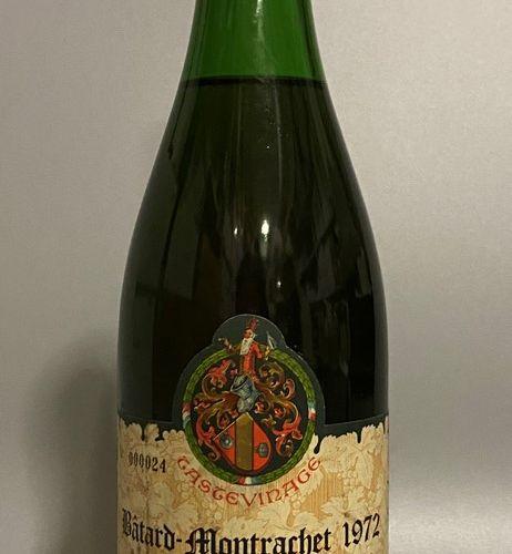 1 bouteille BÂTARD MONTRACHET, Leroy 1972 (tasteviné, Légèrement Basse)
