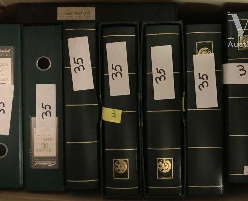 FRANCE. Collection 1963 2009, souvent doublée T P oblitérés le tout présenté en …