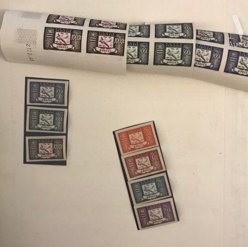 MONACO. Collection présentée sur feuilles d'albums Yvert, des origines à 1960 **…