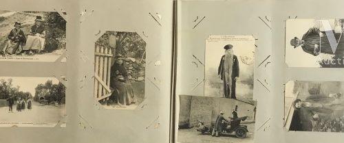 1 album composé de scènes de vie et chanson de Jean Rameau illustrée.