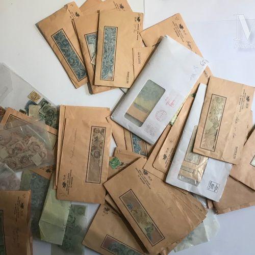Ensemble présenté dans des enveloppes souvent classé par même valeur dont plus d…