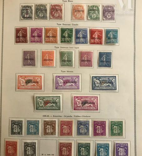 Un classeur FRANCE P.A, taxe, colis postaux et divers, C.F.A. ZOF en Allemagne. …