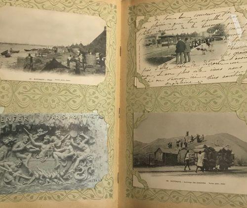 Un album CPA île de la Réunion, Algérie, Aden, CHINE, Tonkin … Belle composition…