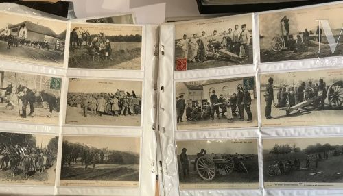 Guerre 14 18. Plus de 250 cartes, scènes de vie militaire, aviation, marine, bat…