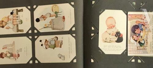 2 albums illustrations et cartes d'Algérie.