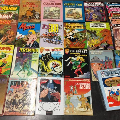 Ensemble d'albums de bandes dessinées :  60 albums et magazines divers… Rahan, P…