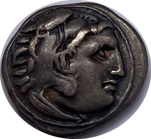 Macédoine Alexandre III (336 323)  Un Drachme  A : Tête à droite d'Alexandre por…