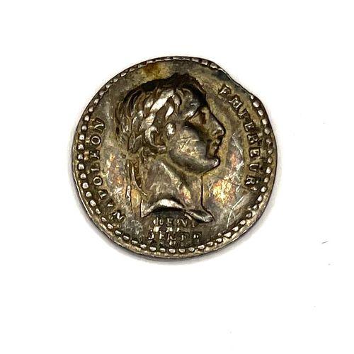 France – Napoléon Empereur (1804 1814)  Une petite médaille « Le Sénat et le Peu…