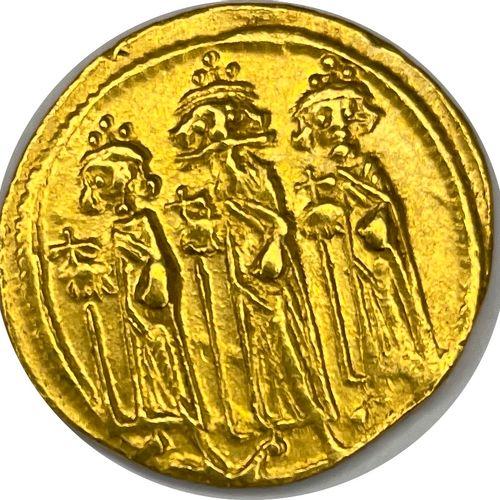 拜占庭 赫拉克利乌斯和他的儿子们(610 641)  固特异 君士坦丁堡 (638 639)  A: 赫拉克利乌斯,赫拉克利乌斯和赫拉克利乌斯 君士坦丁披挂上阵…