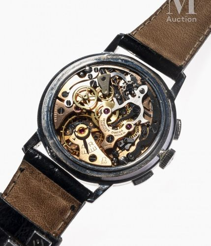 OMEGA Chronographe De Ville  Référence : 101.00009 63  Vers 1965  Beau chronogra…
