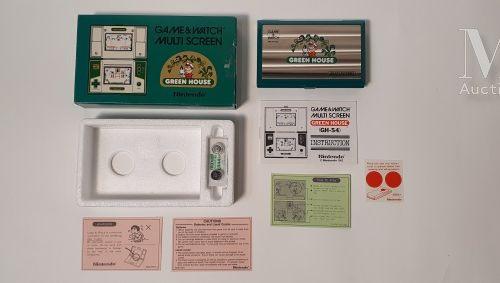 NINTENDO GAME & WATCH MULTI SCREEN NINTENDO GAME & WATCH MULTI SCREEN  « Green H…