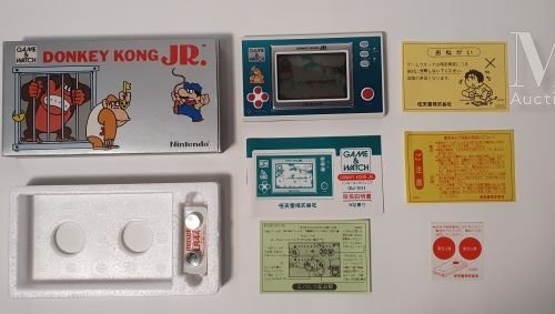 NINTENDO GAME & WATCH SILVER NINTENDO GAME & WATCH SILVER  « Donkey Kong Jr» (),…