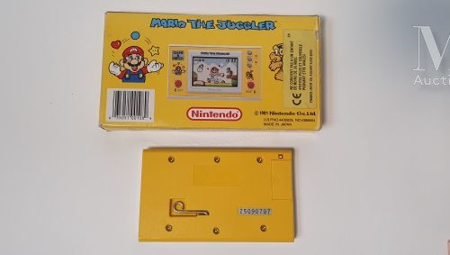 NINTENDO GAME & WATCH NINTENDO GAME & WATCH  « Mario the Juggler » (MB 108), USA…