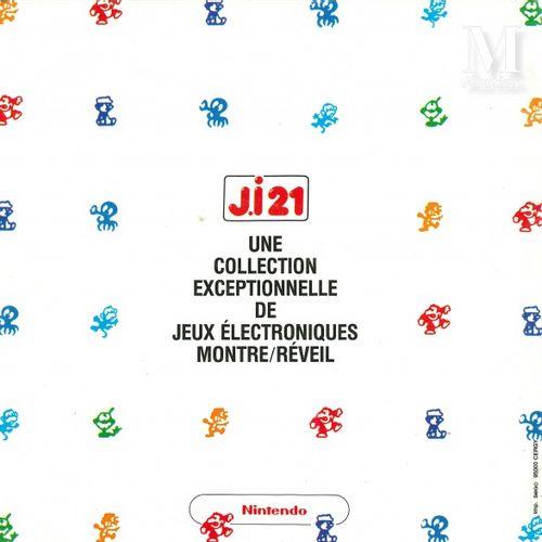 NINTENDO GAME & WATCH J.I 21 NINTENDO GAME & WATCH J.I 21  Ensemble de trois doc…