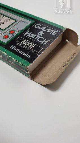 NINTENDO GAME & WATCH NINTENDO GAME & WATCH  « Judge » (IP 05), Jap (1980)  Gree…