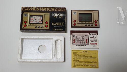 NINTENDO GAME & WATCH GOLD NINTENDO GAME & WATCH GOLD  « Manhole » (MH 06), Jap …