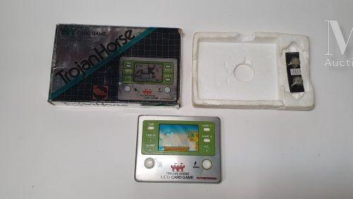 "FUTURETRONICS LCD POCKET GAME  ""Trojan Horse"", Australie  Rare version sans noti…"