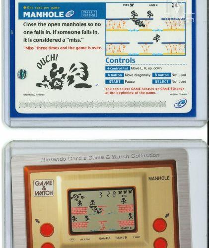 NINTENDO GAME & WATCH NINTENDO GAME & WATCH  Ensemble de deux cartes e reader Jp…