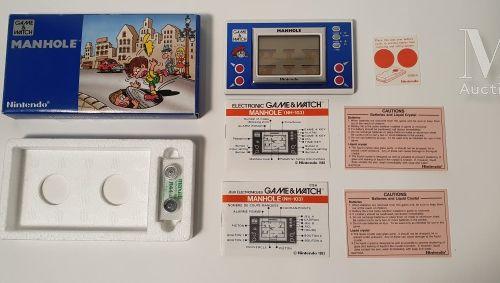 NINTENDO GAME & WATCH NINTENDO GAME & WATCH  « Manhole » (MH 103), USA/Import FR…