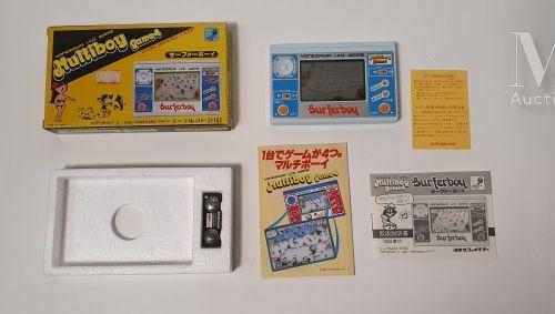 "GAKKEN LCD CARD GAME  ""Towering Rescue"", (1981)  Bon état général"