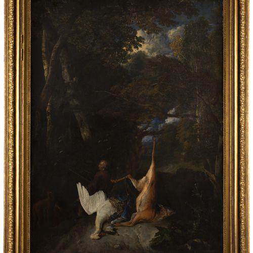 PIETER ANDREAS RYSBRAECK (1684 1748) ET JEAN BAPTISTE HUYSMANS (1654 1716) CHASS…