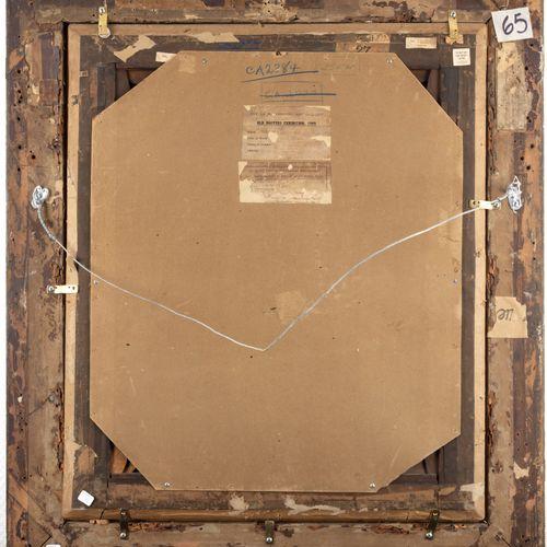 GEORGE ROMNEY (1734 1802) PORTRAIT DE MADAME HENRIETTA GLYN  Toile  74 x 61 cm  …
