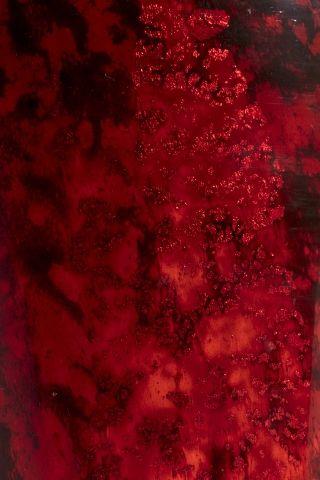 DAUM Nancy Vase de forme balustre en verre mauve nuancé rouge, à décor intercala…