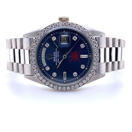 """Rolex """"Khanjar"""" Day Date Bedeutende, hochfeine und überaus seltene, diamantbeset…"""