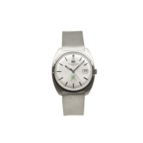 "International Watch Co. ""Khanjar"" Nahezu neuwertige Vintage Armbanduhr mit Datum…"