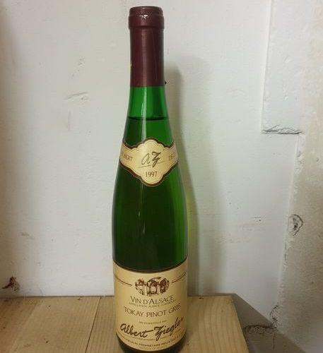 6 bouteilles PINOT GRIS Albert Ziegler 1997
