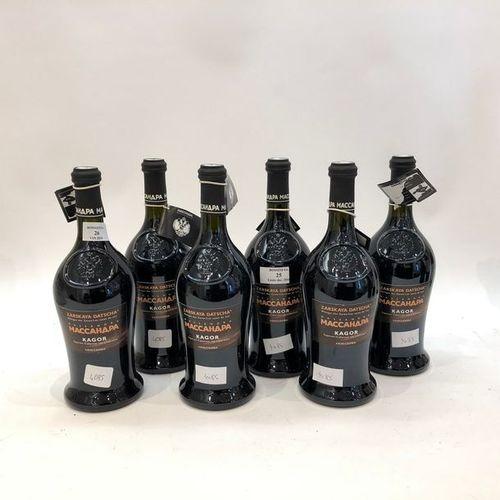 6 bouteilles KAGOR Massandra (Saperavi Cabernet, vin de liqueur, les Caves du Ts…