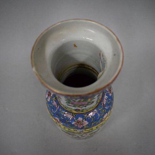 Canton vase, early 20th century  H. 25,5 cm