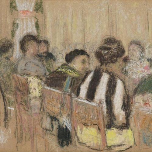 ÉDOUARD VUILLARD Édouard VUILLARD, 1868 1940  La Table d'hôte, Bagnoles de l'Orn…