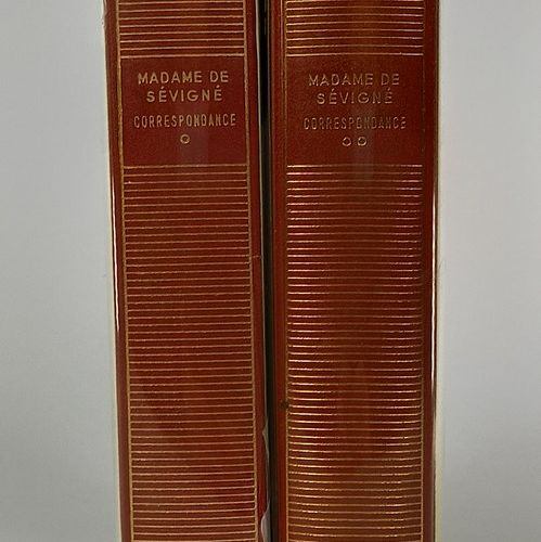 PLEIAD LIBRARY  Madame de Sevigne 2 vol. Correspondence (March 1646 July 1675 Ju…