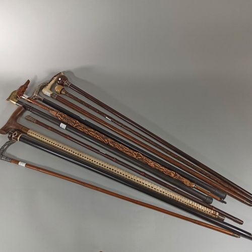 10 miscellaneous rods