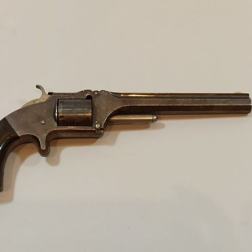 Annular percussion revolver with a breakage mechanism  CAL 32. Manufacture SAITH…