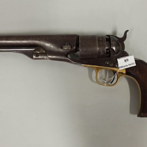Black powder revolver CAL44  Model ARMY  Manufacture of COLT, Cannon markings: A…