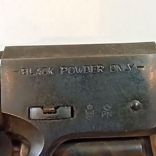 Black powder revolver CAL 36  Model Rebel 1862  Bronze frame  N° 81787  Contempo…