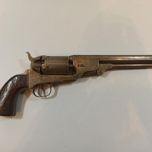 Black powder revolver CAL 44.  Model NAVY.  Octagonal barrel.  N° 41298  Barrel …